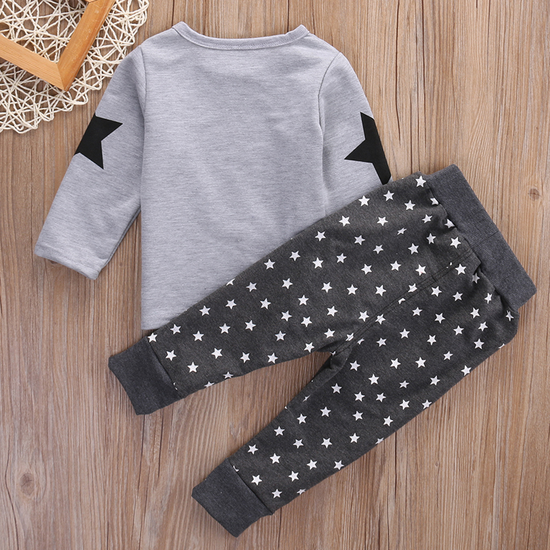 ab227a723f0c Mareya Trade - HOT Toddler Baby Boys Clothing set Kids Boys ...