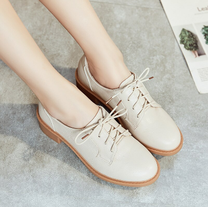 Mareya Trade Leisure small Oxford leather shoes for women